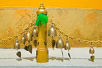 Wind chimes at Stupa at Golden Mount Wat Saket Thailand&#xA;<br />