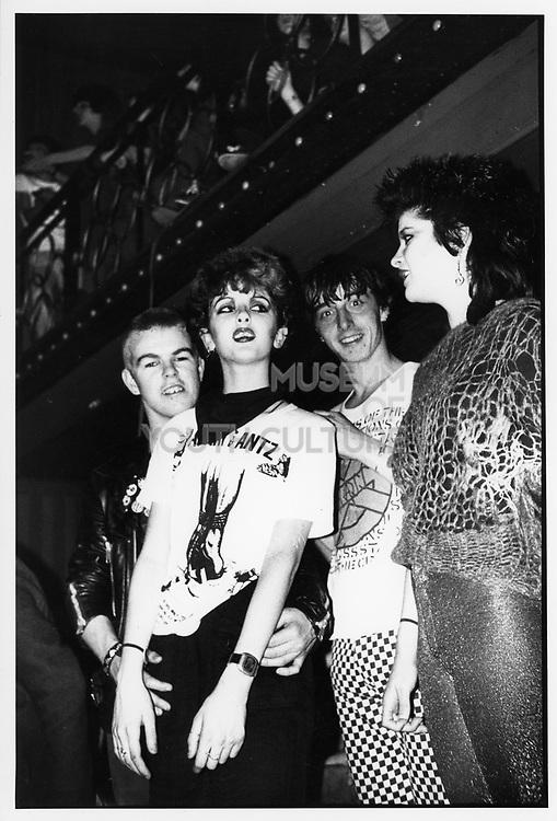 Punks Clubbing,Camden,London c1980s