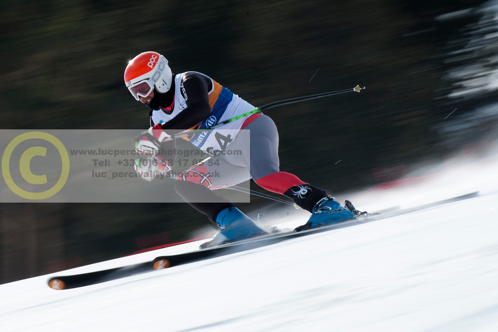 LUJAN Jonathan, USA, Super Combined, 2013 IPC Alpine Skiing World Championships, La Molina, Spain