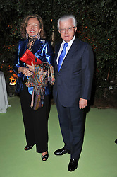 LORD & LADY STEVENS OF LUDGATE at a dinner hosted by Cartier in celebration of the Chelsea Flower Show held at Battersea Power Station, 188 Kirtling Street, London SW8 on 23rd May 2011.