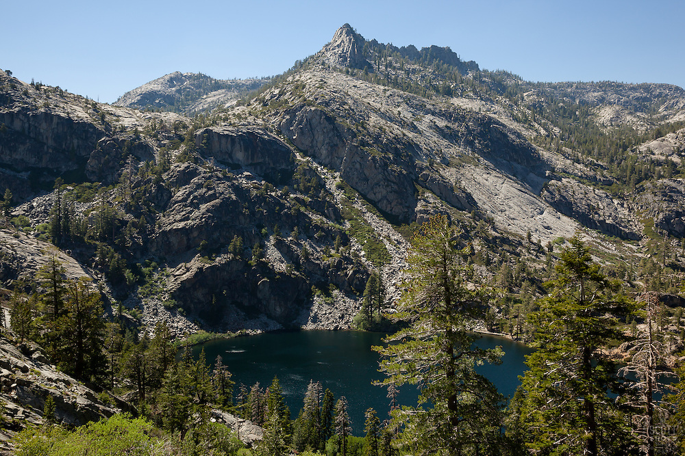 """Eagle Lake 1"" - Photograph of Eagle Lake in the Tahoe Desolation Wilderness."