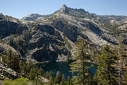 """""""Eagle Lake 1"""" - Photograph of Eagle Lake in the Tahoe Desolation Wilderness."""