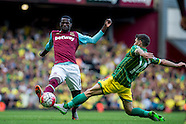 West Ham United v Norwich City - Premier League - 26/09/2015