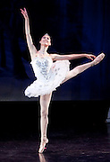 Nov 25, 2009: Theresa Wendler of Rebecca Kelly Ballet performs in Snow Variation, choreographed by Rebecca Kelly, in the North Country Ballet Ensemble's 2009 production of the Nutcracker at Hartman Theater in Plattsburgh, N.Y. (Photo ©Todd Bissonette - http://www.rtbphoto.com)