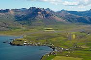 Borgarfjörður eystri,  séð til suðurs,  Staðarfjall, Borgarfjarðarhreppur eystri / Borgarfjordur eystri viewing south, mount Stadarfjall, Borgarfjardarhreppur eystri.