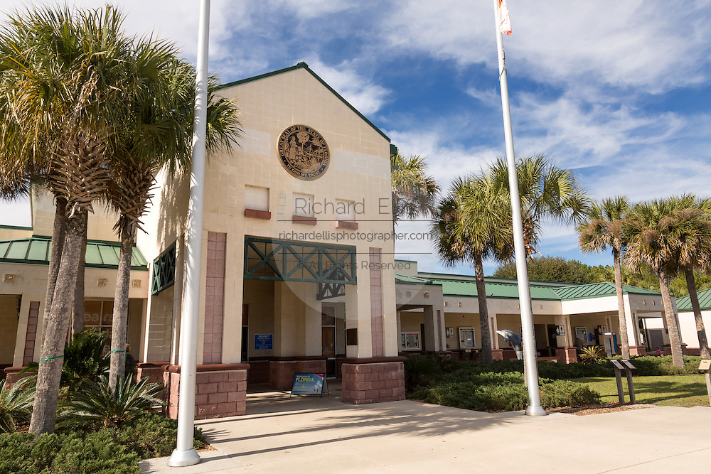 Florida Visitors Welcome Center on I-95 in Yulee, FL.