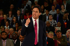 MAY 01 2014 Ed Miliband launching European and Local Election campaign