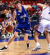 Francia 01/07/1999<br /> Campionati Europei di Basket Francia 1999<br /> Italia-Russia<br /> Grgeor Fucka