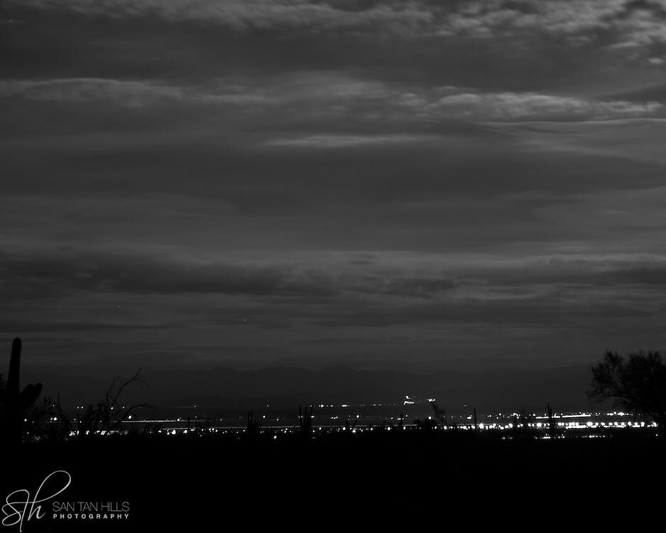 San Tan Valley by night - AZ