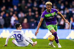 Lloyd Kelly of Bristol City goes past Pablo Hernandez of Leeds United - Mandatory by-line: Robbie Stephenson/JMP - 24/11/2018 - FOOTBALL - Elland Road - Leeds, England - Leeds United v Bristol City - Sky Bet Championship