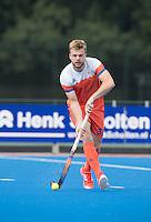 ARNHEM - Primeur. MINK VAN DER WEERDEN . Het Nederlands Mannen hockeyteam traint in Arnhem in het Olympische Adidas tenue, dat tijdens de Olympische Spelen zal worden gedragen.   COPYRIGHT KOEN SUYK
