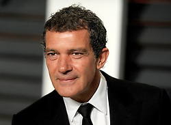 Antonio Banderas in attendance for 2015 Vanity Fair Oscar Party Hosted By Graydon Carter at Wallis Annenberg Center for the Performing Arts on February 22, 2015 in Beverly Hills, California. EXPA Pictures © 2015, PhotoCredit: EXPA/ Photoshot/ Dennis Van Tine<br /> <br /> *****ATTENTION - for AUT, SLO, CRO, SRB, BIH, MAZ only*****
