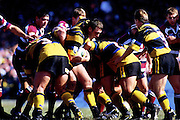 Glenn Taylor in action, Wellington Hurricanes, Super 12 rugby union, 1998. Photo: PHOTOSPORT