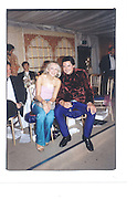 Hannah Sandling and Edward Taylor, Indian Palace Ball, St James's Square, 8th July 2002© Copyright Photograph by Dafydd Jones 66 Stockwell Park Rd. London SW9 0DA Tel 020 7733 0108 www.dafjones.com