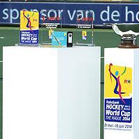 DEN HAAG - Rabobank Hockey World Cup<br /> 38 Final: Netherlands - Australia<br /> Netherlands world champion.<br /> Foto: The Trophies.<br /> COPYRIGHT FRANK UIJLENBROEK FFU PRESS AGENCY