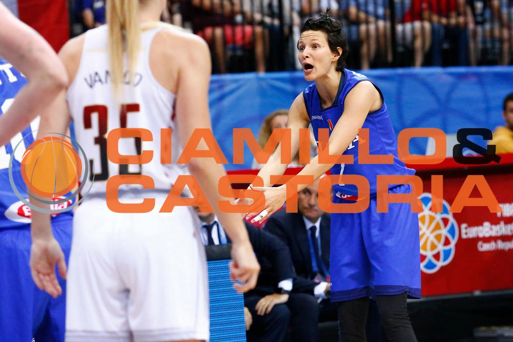 Giorgia Sottana<br /> Italia - Belgio<br /> Nazionale Femminile Senior - EUROBASKET 2017 - Quarti di Finale<br /> O2 Arena, Praga, 22/06/2017<br /> Foto Ciamillo-Castoria / M.Brondi