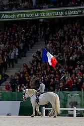Opening Ceremony, Team FRA <br /> Alltech FEI World Equestrian Games™ 2014 - Normandy, France.<br /> © Hippo Foto Team - Leanjo de Koster<br /> 25/06/14