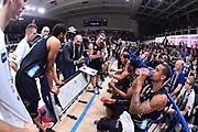 Campionato Italiano Basket 2017/18<br /> 17° Giornata - Ritorno - <br /> Trento 28/01/2018<br /> Dolomiti Energia Trentino - Umana Reyer Venezia79-83 <br /> Nella foto  time out trento  Buscaglia Maurizio<br /> Foto GiulioCiamillo/Ciamillo-Castoria