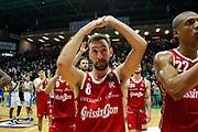 Poeta Giuseppe<br /> De'Longhi Treviso vs Grissin Bon Reggio Emilia<br /> Legabasket SerieA 2019-2020<br /> Treviso (TV), 08/12/2019<br /> Foto  Ciamillo-Castoria <br /> Delusione