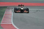 February 19, 2013 - Barcelona Spain. Kimi Raikkonen, Lotus F1 Team  during pre-season testing from Circuit de Catalunya.