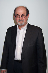 SALMAN RUSHDIE at the Montblanc de la Culture Arts Patronage Award 2008 presented to Louise Blouin MacBain at the Louise Blouin MacBain Institute, 3 Olaf Street, London W11 on 16th April 2008.<br />