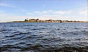 Nederland, Urk, 20-5-2014Zicht op het dorp, voormalige eiland, vanaf het ijsselmeer.View of the fishing village and former island.Foto: Flip Franssen/Hollandse Hoogte