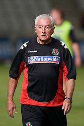 Nicosia, Cyprus - Saturday, October 13, 2007: Wales' assistant coach Roy Evans during the Group D UEFA Euro 2008 Qualifying match against Cyprus at the New GSP Stadium in Nicosia. (Photo by David Rawcliffe/Propaganda)