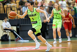 Nika Baric of Slovenia during friendly basketball match between Women National teams of Slovenia and Croatia before FIBA Eurobasket Women 2017 in Prague, on June 1, 2017 in Celje, Slovenia. Photo by Vid Ponikvar / Sportida