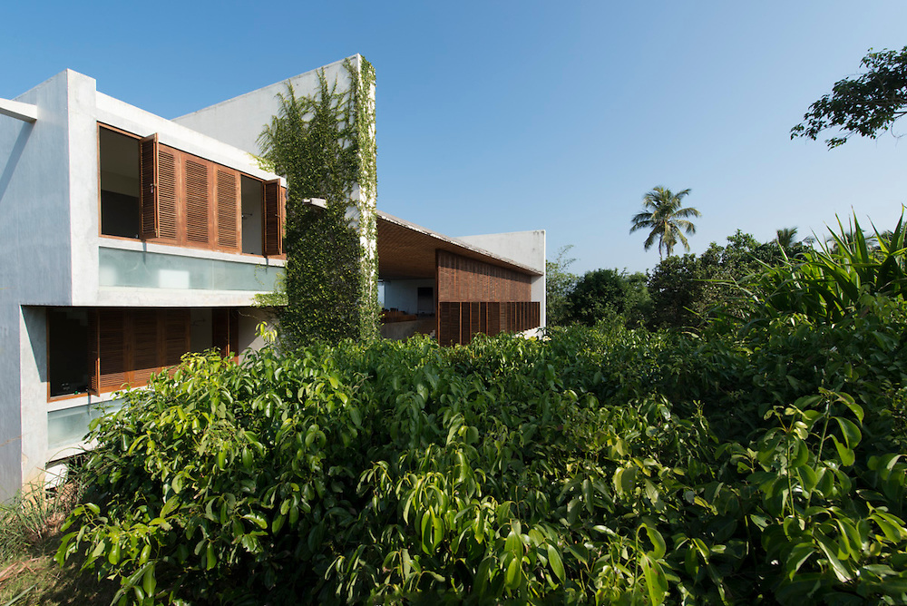 Villa Vista, Mirissa.<br /> Architect: Shigeru Ban