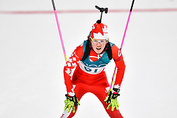 February 10, 2018 - Pyeongchang, South Korea - 180210 Emma Lunder of Canada competes in Women's Biathlon 7,5 km Sprint during day one of the 2018 Winter Olympics on February 10, 2018 in Pyeongchang..Photo: Petter Arvidson / BILDBYRN / kod PA / 87614 (Credit Image: © Petter Arvidson/Bildbyran via ZUMA Press)