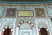 18th Century Fountain of Ahmed III at the Topkapi Palace, Topkapi Sarayi, of the Ottoman Empire in Istanbul, Turkey