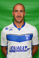 Lionel Mathis of Auxerre during Auxerre squad photo call for the 2016-2017 Ligue 2 season on September, 7 2016 in Auxerre, France ( Photo by Andre Ferreira / Icon Sport )