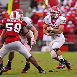 Sep 26, 2009; College Park, MD, USA; Rutgers running back Joe Martinek (38) runs the ball during the second half of Rutgers' 34-13 victory over Maryland in NCAA college football at Byrd Stadium.