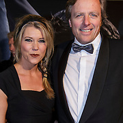 NLD/Amsterdam/20150211 - Premiere Fifty Shades of Grey, Sandra Ysbrandy en partner