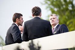 Zvonimir Boban (Croatia), Dejan Savicevic (Montenegro) and Davor Suker (Croatia) during Official opening of the Slovenian National football centre Brdo (Nacionalni nogometni center Brdo), on May 6, 2016, in Brdo pri Kranju, Slovenia. Photo by Vid Ponikvar / Sportida