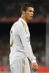 17.08.2011, Camp Nou, Barcelona, ESP, Supercup 2011, FC Barcelona vs Real Madrid, im Bild Real Madrid's Cristiano Ronaldo during Spanish Supercup 2nd match.August 17,2011. EXPA Pictures © 2011, PhotoCredit: EXPA/ Alterphotos/ Acero +++++ ATTENTION - OUT OF SPAIN / ESP +++++