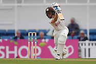 Ollie Pope of Surrey during the Specsavers County C'ship Div One match at the Kia Oval, London<br /> Picture by Simon Dael/Focus Images Ltd 07866 555979<br /> 11/05/2018