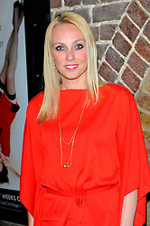 Camilla Dallerup during Blind Date - press night, Charing Cross Theatre,  London, United Kingdom, 04 June 2013. Photo by Chris Joseph / i-Images.
