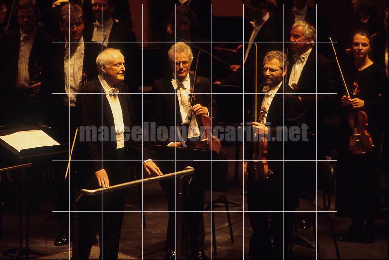 Conductor Carlos Kleiber, Cagliari, Teatro Lirico, February 1999 - © Marcello Mencarini