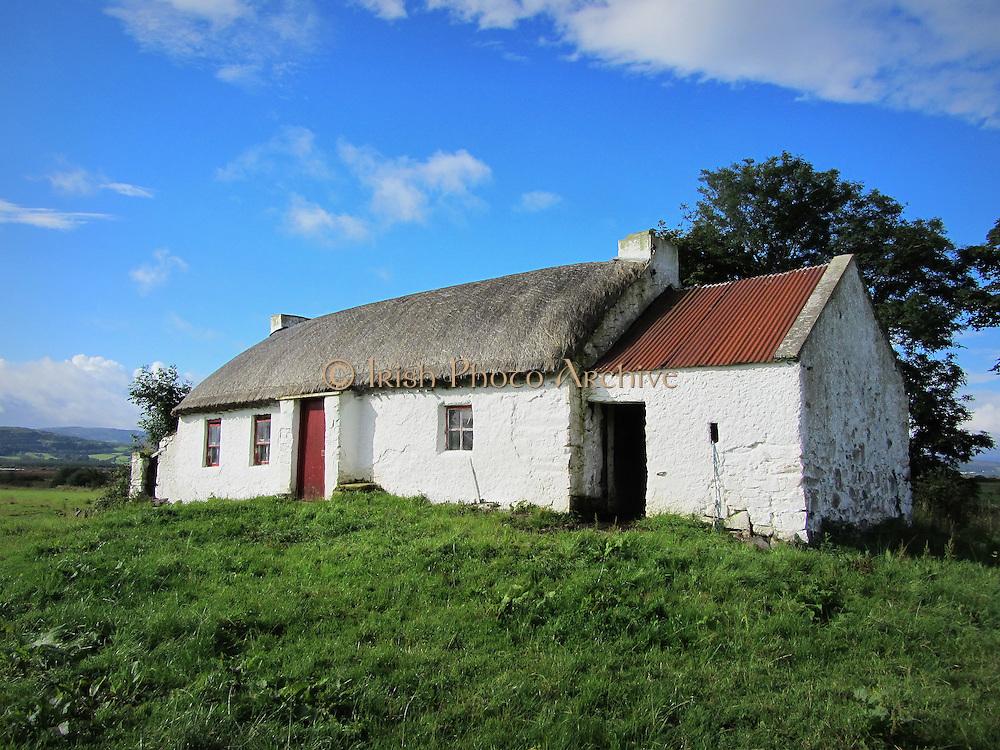 Old Irish Cottage, Culdaff, Co. Donegal, Ireland, c.1800