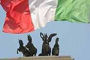Bandiere Italia Vittoriano