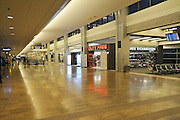 Israel, Ben-Gurion International airport Terminal 3, departure hall. The Duty free shops