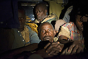 Poachers apprehended by park rangers<br /> Masai Mara Conservancy, Kenya