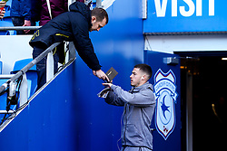 Tommy Rowe of Bristol City arrives at Cardiff City - Mandatory by-line: Robbie Stephenson/JMP - 10/11/2019 -  FOOTBALL - Cardiff City Stadium - Cardiff, Wales -  Cardiff City v Bristol City - Sky Bet Championship