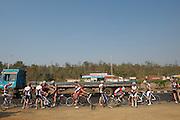 Radio Shack, Bonitas, Motorpoint pedal the tranfer from Nashik to Mumbai - India