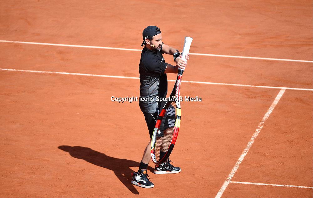 Cyril HANOUNA - 23.05.2015 - Tennis - Journee des enfants - Roland Garros 2015<br /> Photo : David Winter / Icon Sport