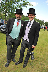 Left to right, ALAN DAVIDSON and NICHOLAS HARVEY at day 1 of the Royal Ascot Racing Festival 2012 held on 19th June 2012.