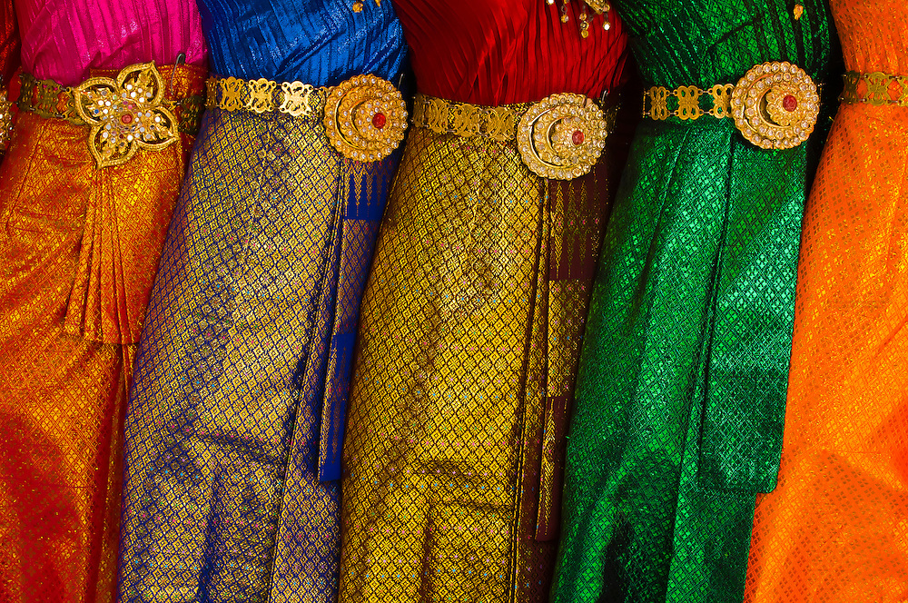 Thai women's clothing, Bangkok, Thailand