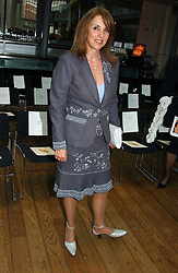 YVONNE SHERRINGTON who was recently involved in a high profile law case over her husbands Richard's will at The Critic's Circle National Dance Awards 2005 held at The Royal Opera House, Covent Garden on 19th January 2006.<br />