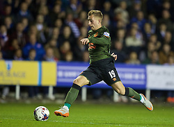 READING, ENGLAND - Tuesday, September 22, 2015: Everton's Gerard Deulofeu in action against Reading during the Football League Cup 3rd Round match at the Madejski Stadium. (Pic by David Rawcliffe/Propaganda)